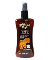 HAWAIIAN TROPIC BRONZING OIL - Spray 200ml SPF 10
